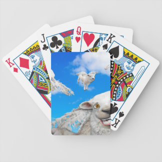 FLYING SHEEP 5 BICYCLE PLAYING CARDS