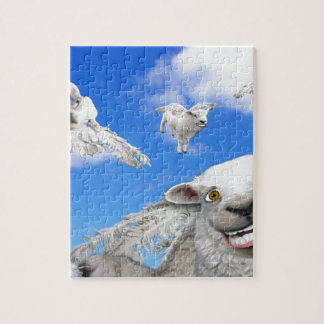 FLYING SHEEP 5 JIGSAW PUZZLE
