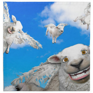 FLYING SHEEP 5 NAPKIN