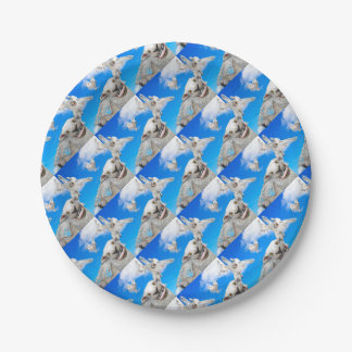 FLYING SHEEP 5 PAPER PLATE