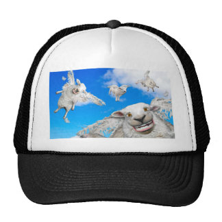 FLYING SHEEP 5 TRUCKER HAT