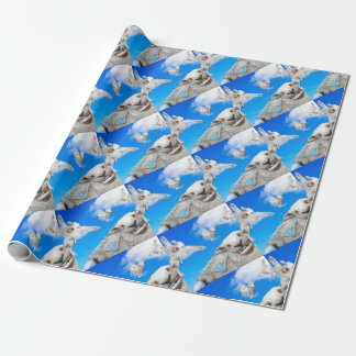 FLYING SHEEP 5 WRAPPING PAPER