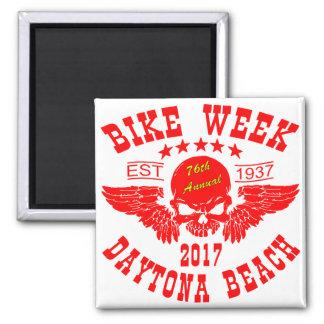 Flying Skull 76Th Daytona Beach Bike Week 2017r Magnet