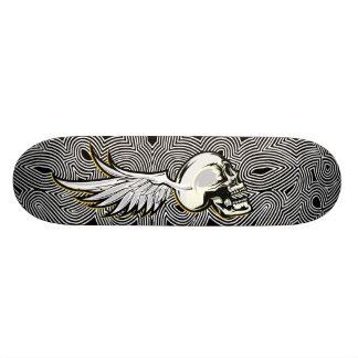 Flying Skull Trip Skate Board Deck