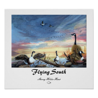 Flying South Print