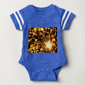 Flying stars baby bodysuit