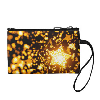 Flying stars coin purse