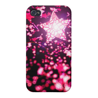 Flying stars cover for iPhone 4