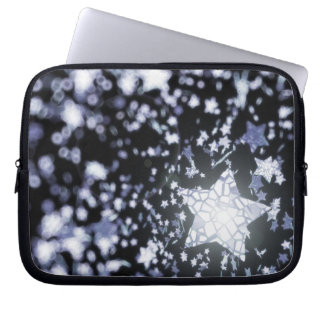 Flying stars laptop sleeve