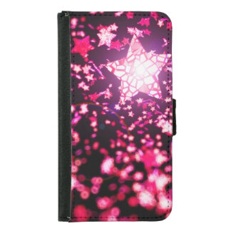 Flying stars samsung galaxy s5 wallet case