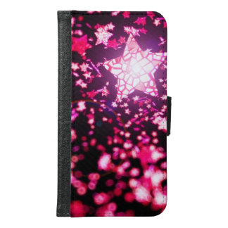 Flying stars samsung galaxy s6 wallet case