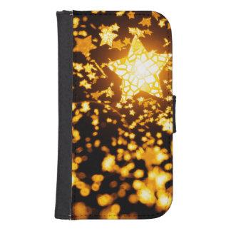 Flying stars samsung s4 wallet case