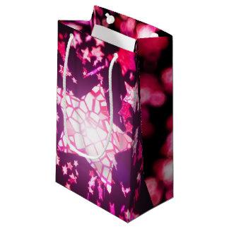 Flying stars small gift bag