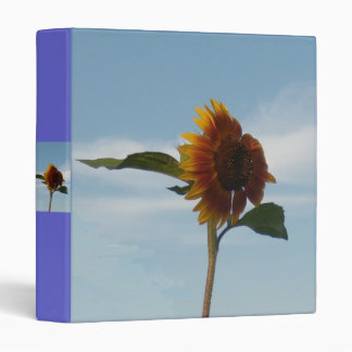 Flying Sunflower Vinyl Binders
