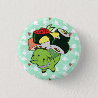 Flying sushi dragon button