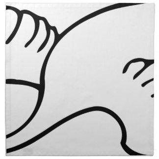 Flying Swan Napkin