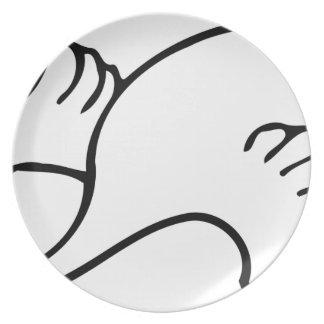 Flying Swan Plate
