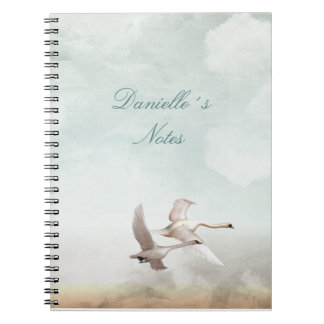 Flying Swans Note Book