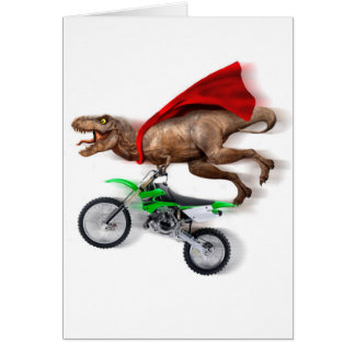 Flying t rex  - t rex motorcycle - t rex ride card
