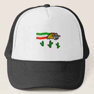 Flying Taco Cat Trucker Hat