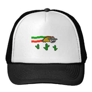 Flying Taco Cat Trucker Hat