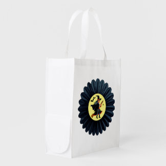Flying Through the Moonlight Reusable Grocery Bag