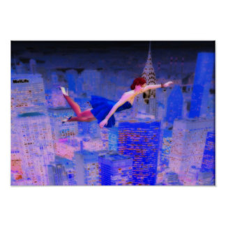 Flying through the Spirit World Poster