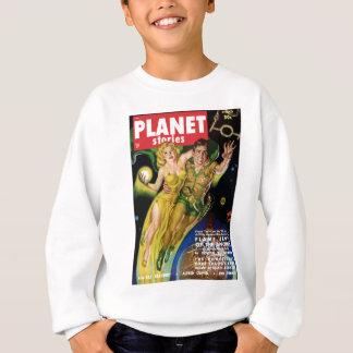 Flying Throught the Galaxy Sweatshirt