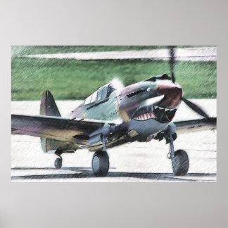 Flying Tiger - AVG Poster