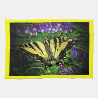 Flying Tiger Butterfly Kitchen Towel