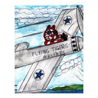 Flying Tigers Airlines Letterhead