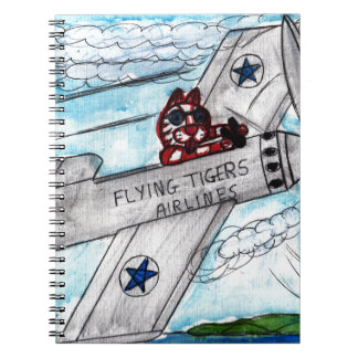 Flying Tigers Airlines Notebooks