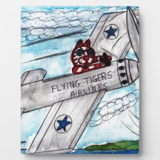 Flying Tigers Airlines Plaque