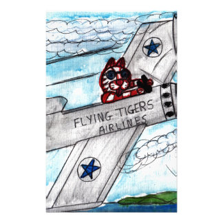 Flying Tigers Airlines Stationery