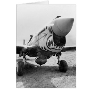 Flying Tigers P-40 Warhawk, 1941 Card