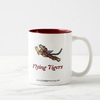 Flying Tigers Pilot Mug - Left Handed