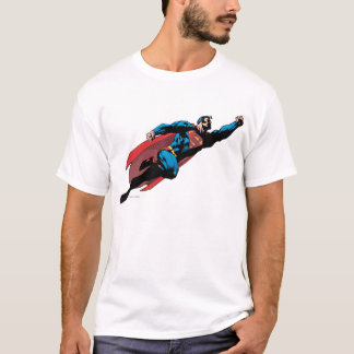 Flying to the right - Comic T-Shirt