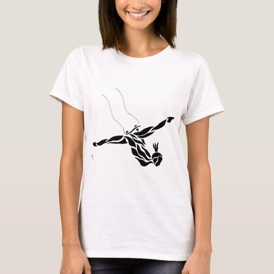 Flying Trapeze Splits T-Shirt