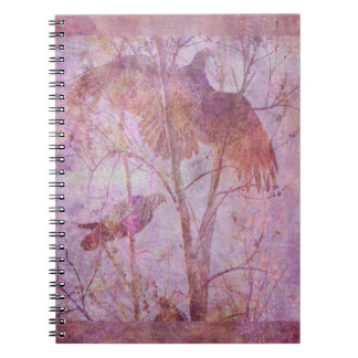 Flying Turkeys Spiral Note Book