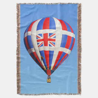 Flying UK Throw Blanket