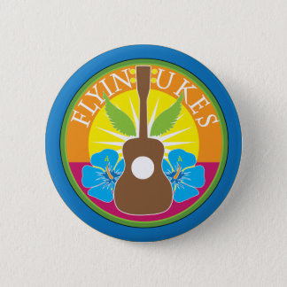 Flying Ukes 2 Inch Round Button