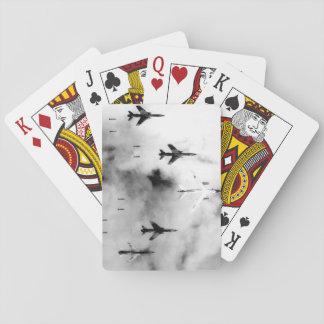 Flying under radar control with a B-66 Destroyer_W Playing Cards