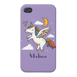 Flying Unicorn Case For iPhone 4