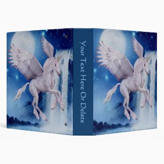 Flying Unicorn Fantasy Horse Binder