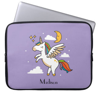 Flying Unicorn Laptop Sleeve