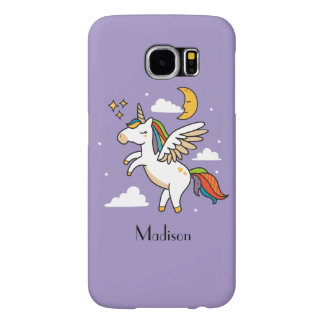 Flying Unicorn Samsung Galaxy S6 Case