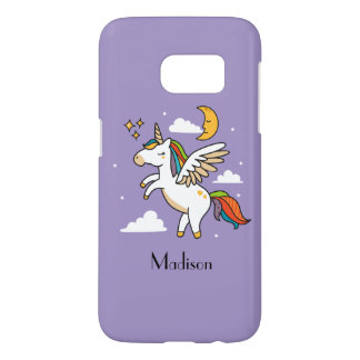 Flying Unicorn Samsung Galaxy S7 Case