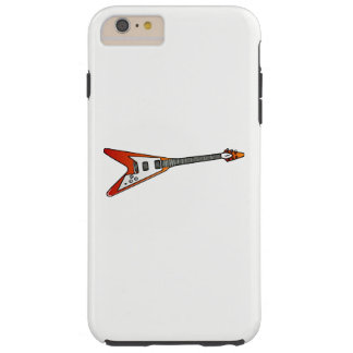 Flying V Guitar Tough iPhone 6 Plus Case