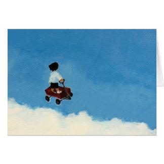 Flying Wagon Card