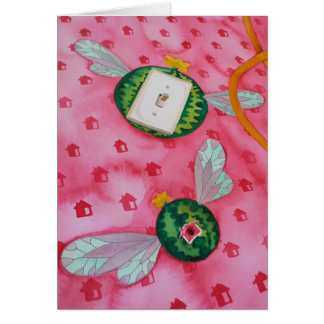 Flying Watermelon CARD